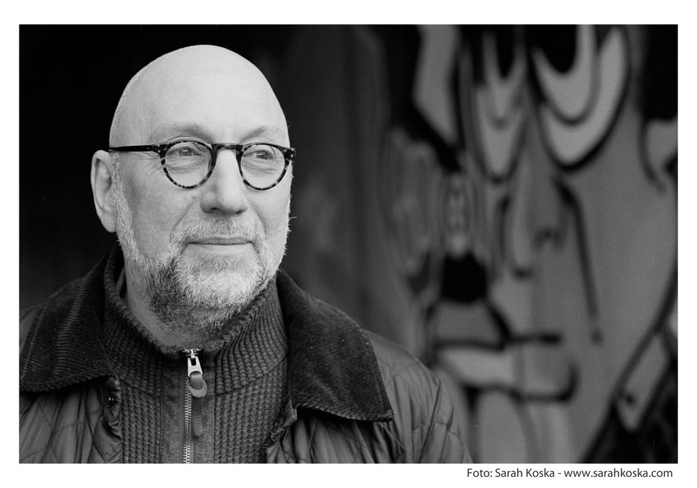 Schriftsteller Jürgen Kehrer liest in der Bundesakademie. Foto: Sarah Koska