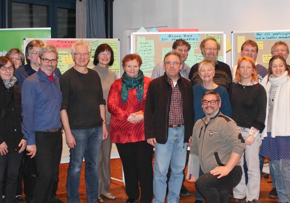 Große Beteiligung beim  Wahlkampfauftakt der Wolfenbütteler Kreisgrünen. Foto: Privat