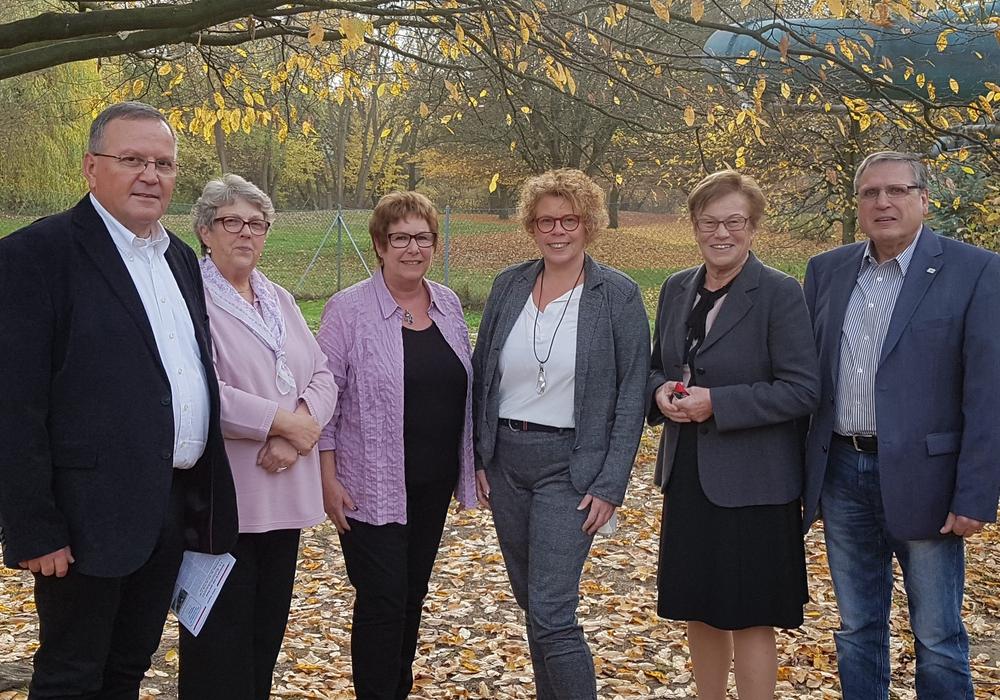Reiner Knoll, Barbara Dolff, Birgit Neltner, Nicole Bliesener, Edda Schliepack (Ehrenvorsitzende), Wolfgang Neltner