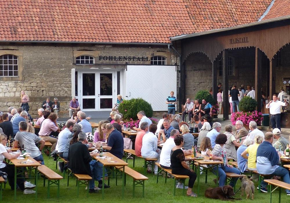 Am Samstag fand das Barbecue mit Uwe Lagosky statt. Foto: CDU