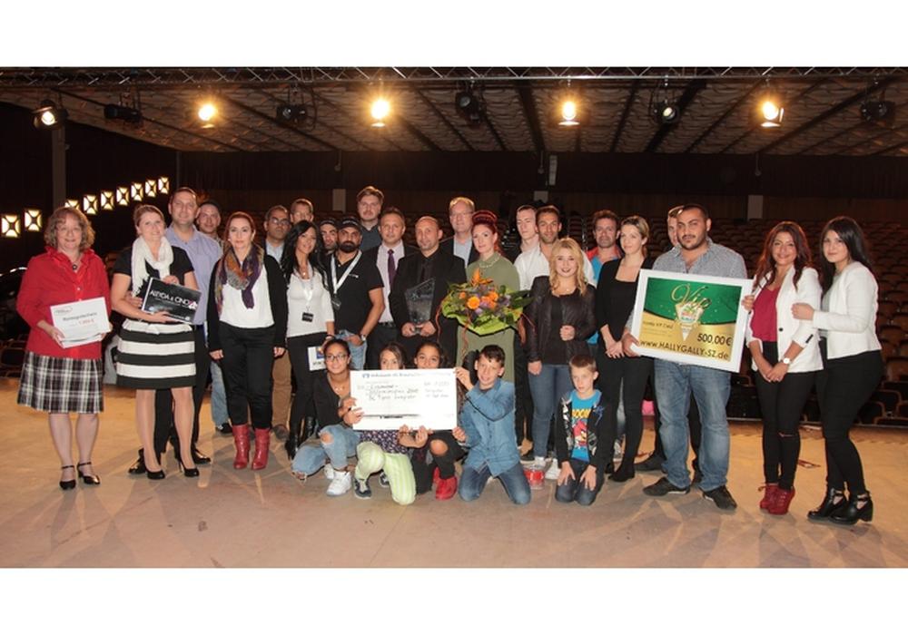 Die Preisträger des Integrationspreises von 2015. Foto: Rudi Karliczek