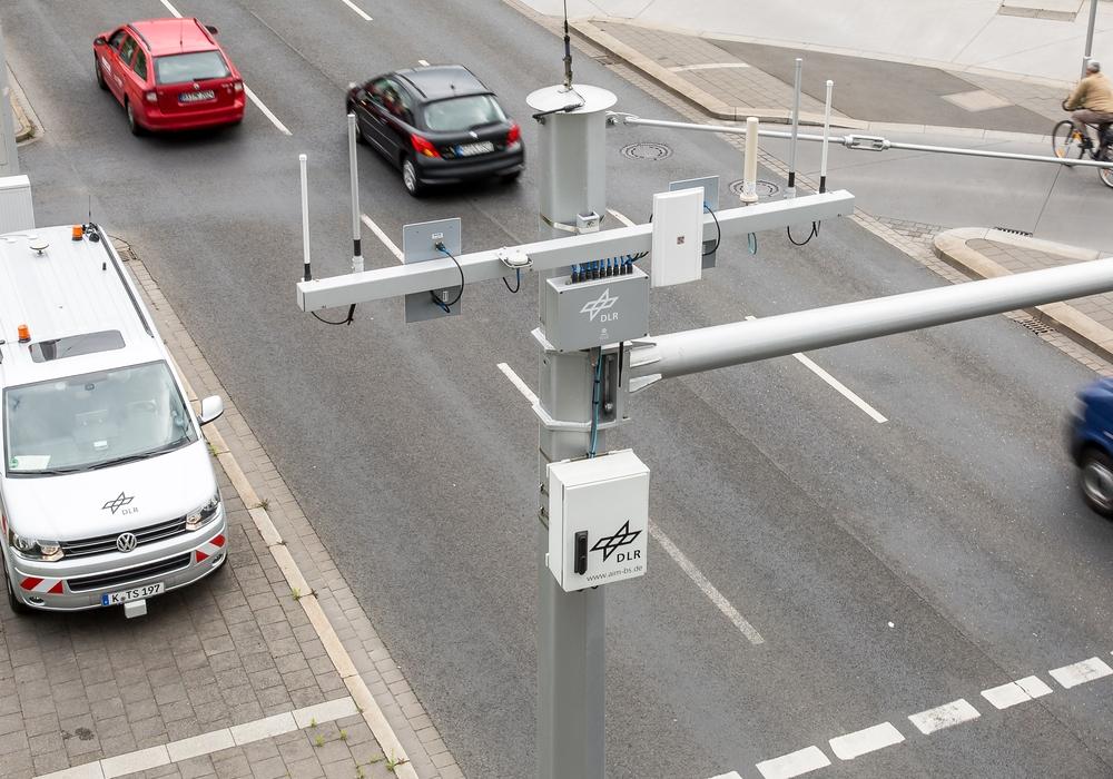 Auf den Straßen der Region sollen bald Testfelder für autonomes Fahren installiert werden. Foto: DLR