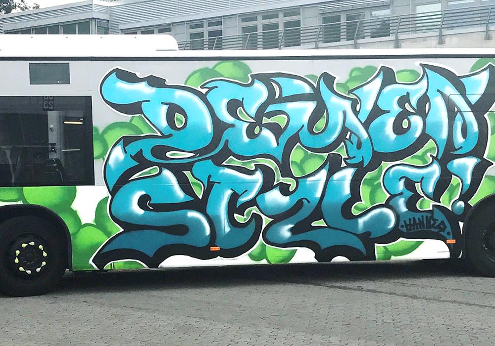 """Bildunterschrift: """"The Rolling Wall"""" - jetzt in Wolfsburg unterwegs // WVG 10er-Karte und Wolfsburg T-Shirt zu gewinnen. Foto: Stadt Wolfsburg"""