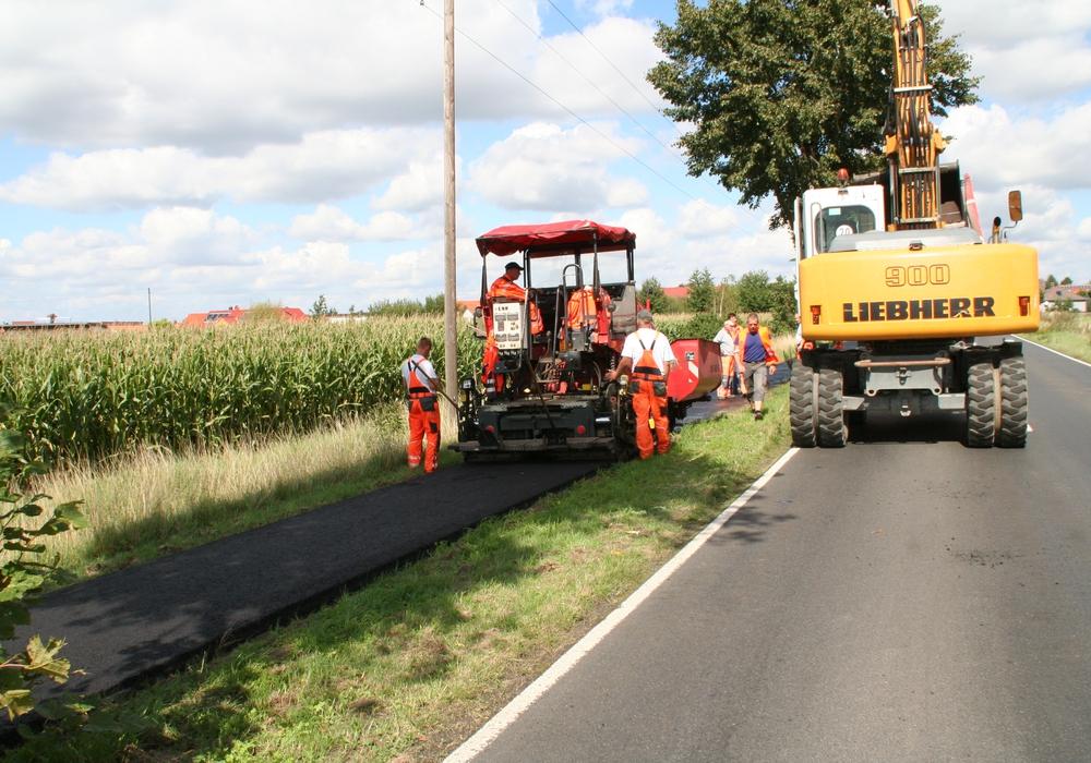 Der Radweg von Destedt nach Hemkenrode wird gegenwärtig saniert. Foto: Privat