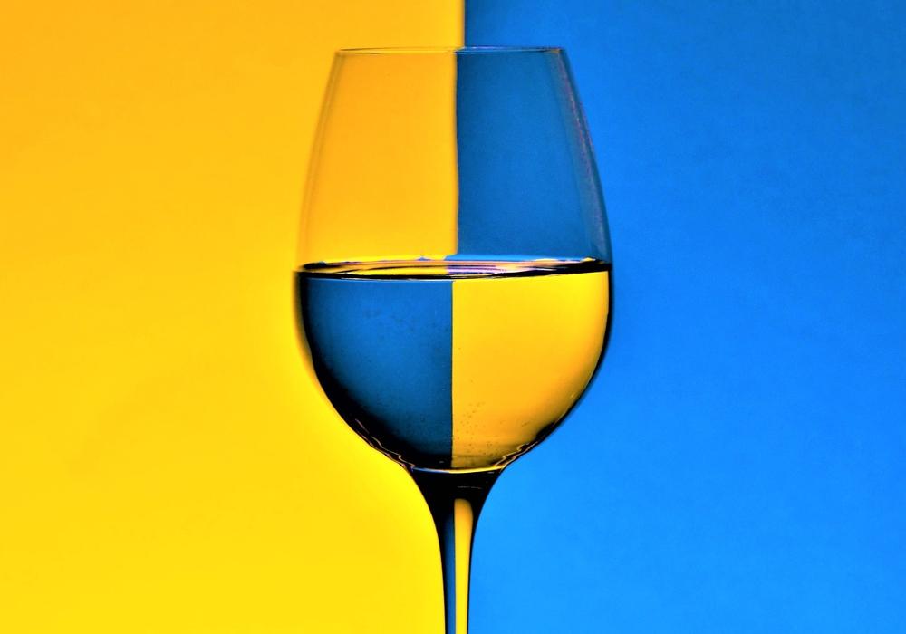 Blau-Gelb-Sucht. Foto: Oxana Zach