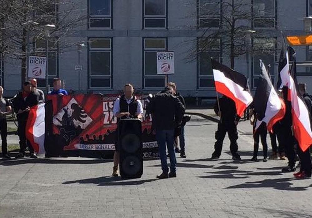 """Die """"Schutzzone Salzgitter"""" ist eine Initiative der rechtsextremistischen NPD. Symbolfoto: Archiv"""