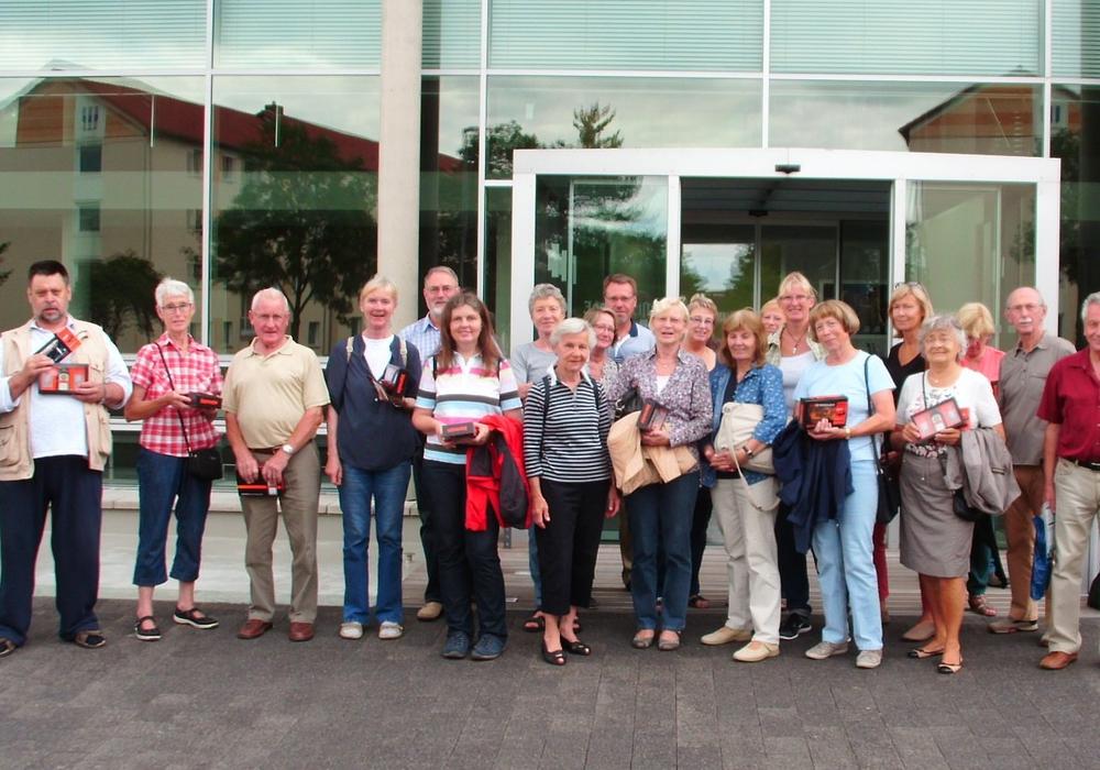 SPD Stadtverband Wolfenbüttel besuchte im Rahmen des Sommerprogramms unter der Federführung des OV Vor dem Herzogtore die Firma Mast Jägermeiser S.E. am Zentralstandort. Foto: SPD