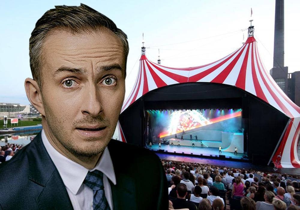 Der Satiriker Jan Böhmermann machte sich über Braunschweig und Wolfsburg lustig. Foto: ZDF/Ben Knabe/Autostadt/Matthias Leitzke