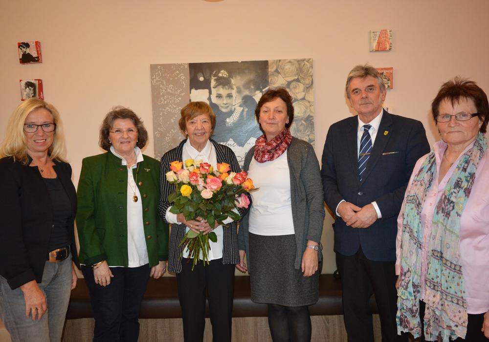 Marianne Körner feierte ihren 90. Geburtstag. Foto: Privat