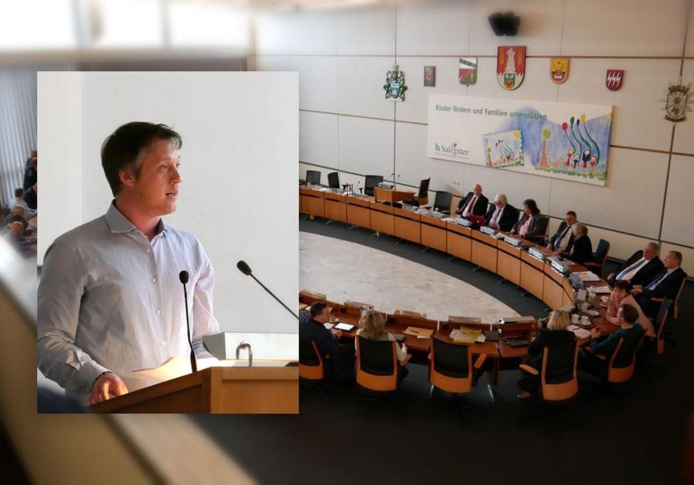Marcel Bürger, Fraktionsvorsitzender der Grünen, und seine Fraktion scheiterten mit ihrem Antrag. Archivfoto: Marcel Bürger