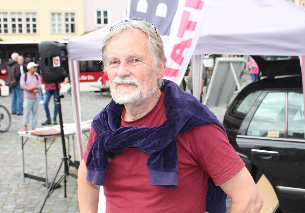 Der BIBS-Vorsitzende und Mitglied des Stadthallen-Aufsichtsrats Peter Rosenbaum. Foto: Alexander Dontscheff