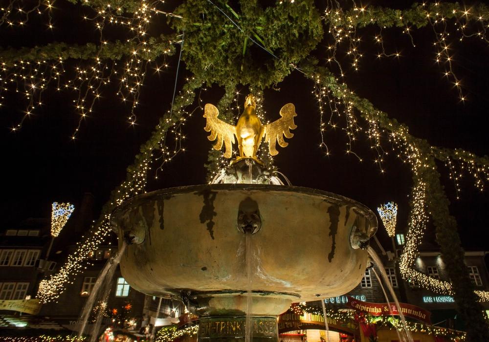 Das Stadtmarketing Goslar zeigt sich zufrieden mit dem ersten Weihnachtsmarkt-Wochenende. Foto:  Alec Pein