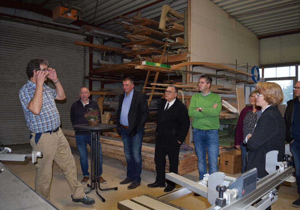 13 Unternehmer aus dem Stadtteil Vienenburg kamen zum mittlerweile 16. Werkstattgespräch, um sich auszutauschen. Foto: Stadt Goslar