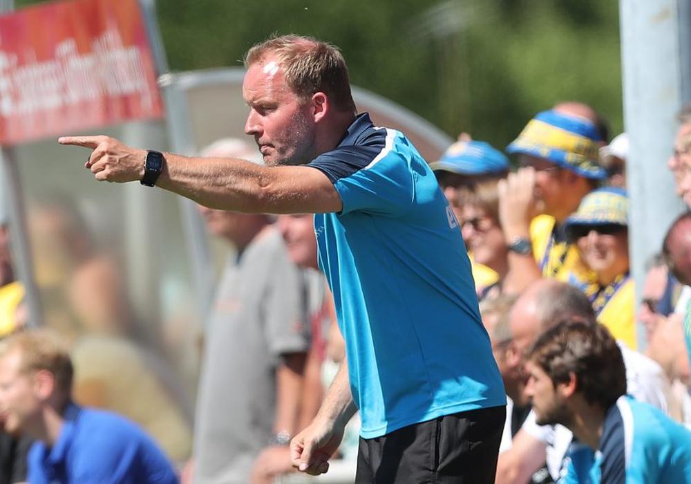 Die Aufgaben steigern sich für Henrik Pedersen und sein Team. Foto: Agentur Hübner