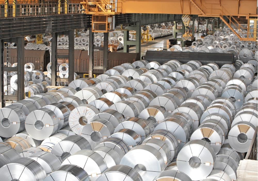 Der Außenumsatz des Salzgitter-Konzerns stieg vor allem aufgrund höherer Durchschnittserlöse vieler Walzstahlprodukte um knapp ein Fünftel. Foto: SZ AG