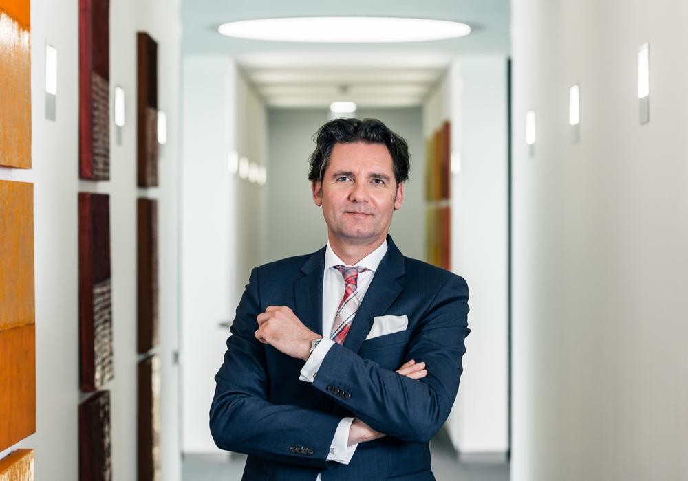 Volksbank BraWo Vorstand Mark Uhde Foto: Volksbank BraWo