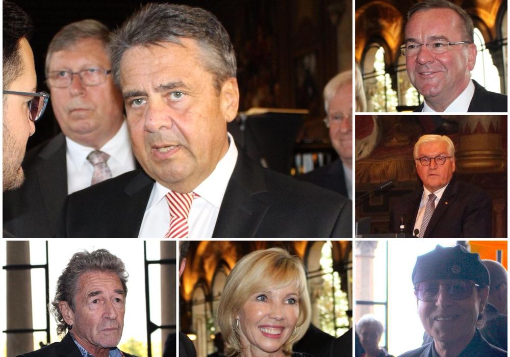 Zahlreiche Prominente wie zum Beispiel Peter Maffay, Doris Schröder-Köpf und Klaus Meine waren am gestrigen Freitag in Goslar. Fotos: Nick Wenkel