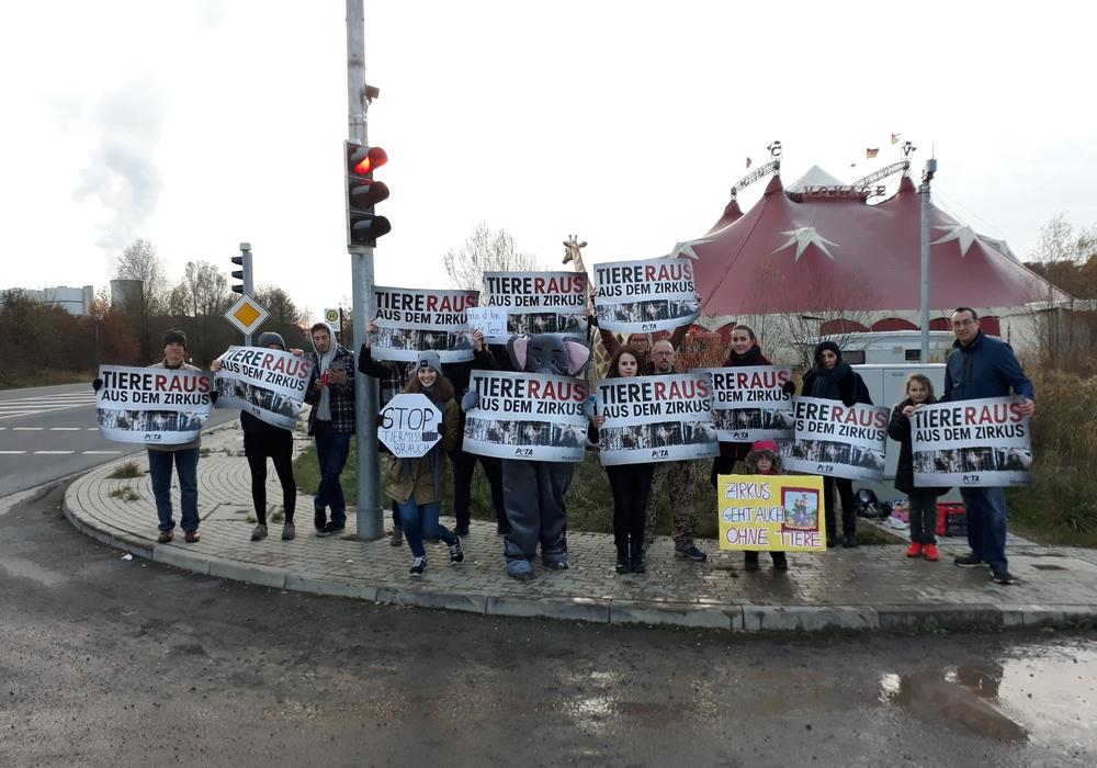 Am Donnerstag wurde bereits protestiert. Foto: Ricarda Fritzsche