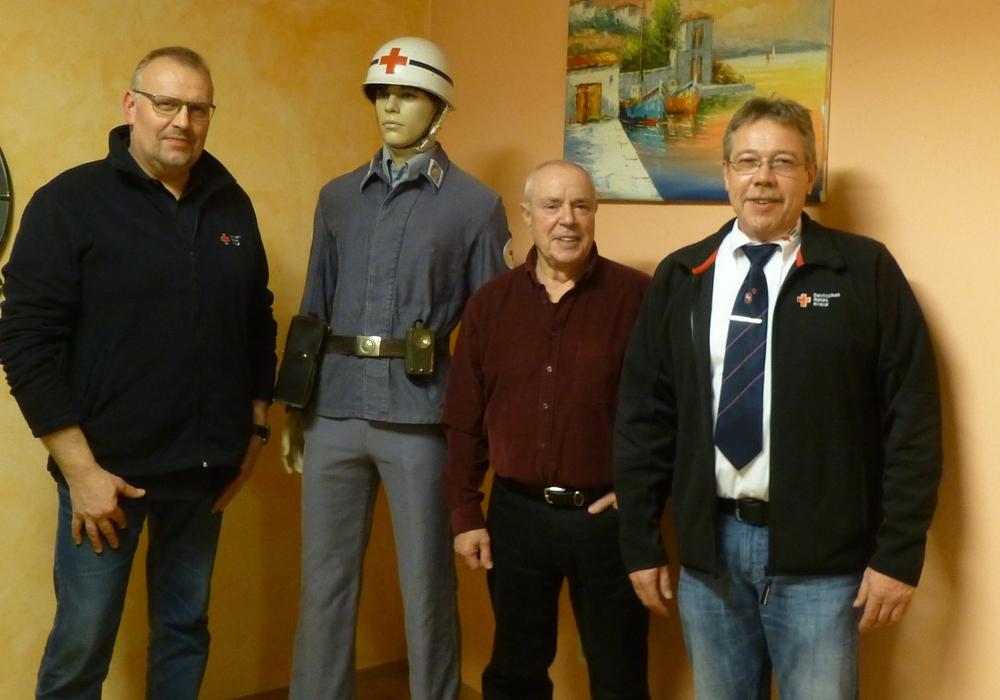 Rainer Wachsmann, Hans-Udo Dillmann und Dirk Noll bilden den geschäftsführenden Vorstand (v. li.). Fotos: Timo Pischke\DRK Kreisverband Goslar