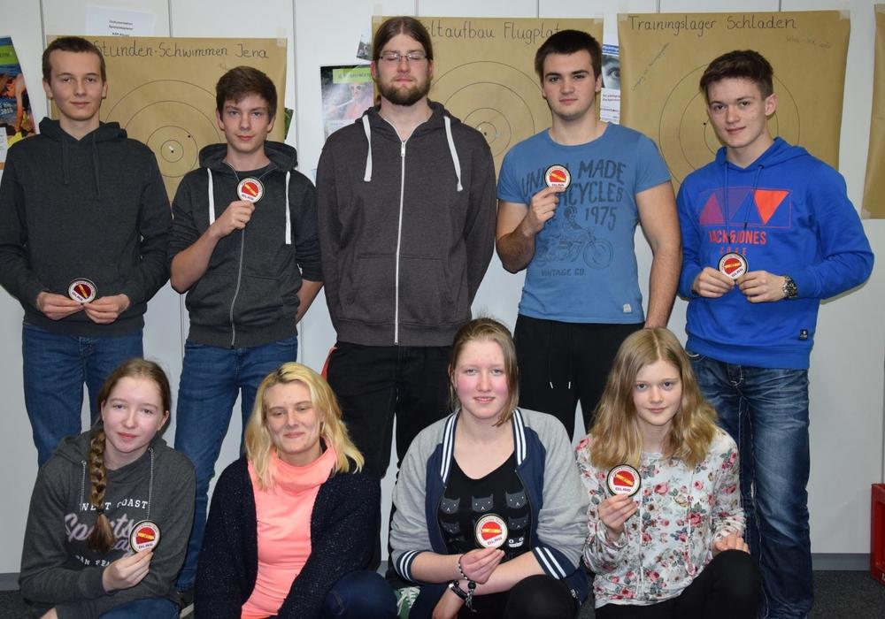 Das Jugend-Einsatz-Team blickte auf das erste Einsatzjahr zurück. Foto: DLRG