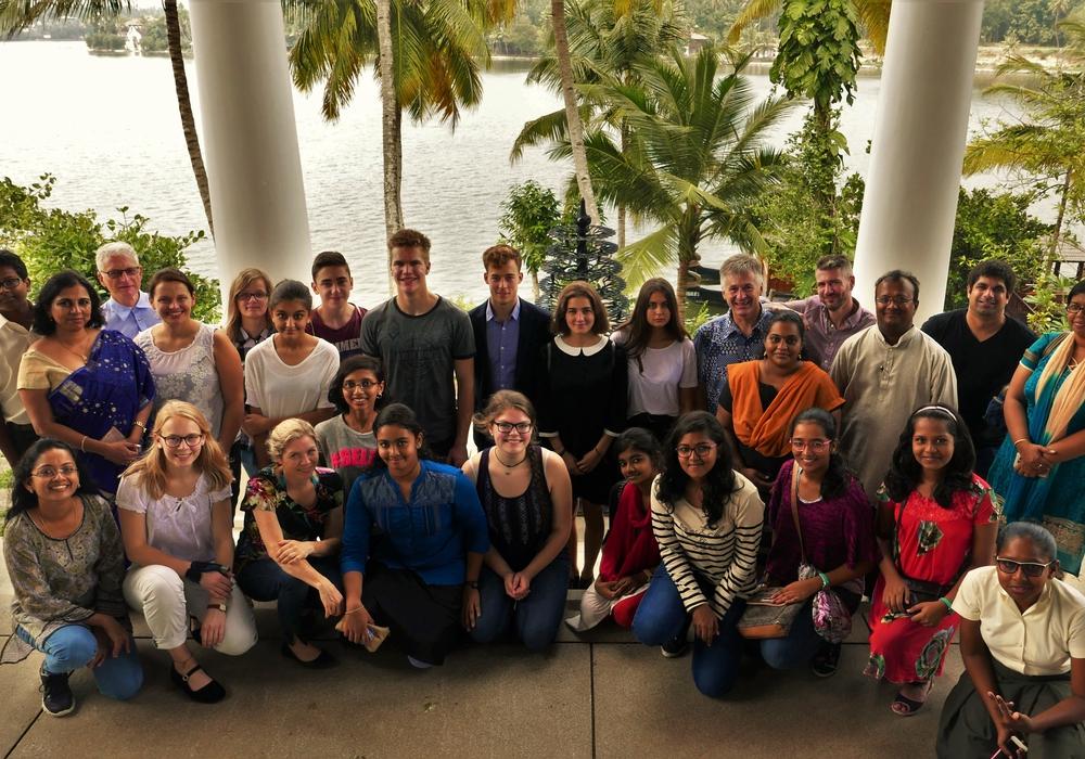 Marcel Junge berichtet von seiner Reise nach Indien. Foto: Privat