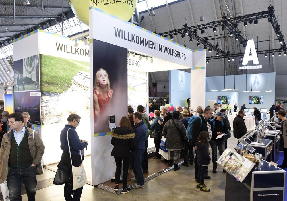 Wolfsburg präsentiert sich in Stuttgart. Foto: WMG