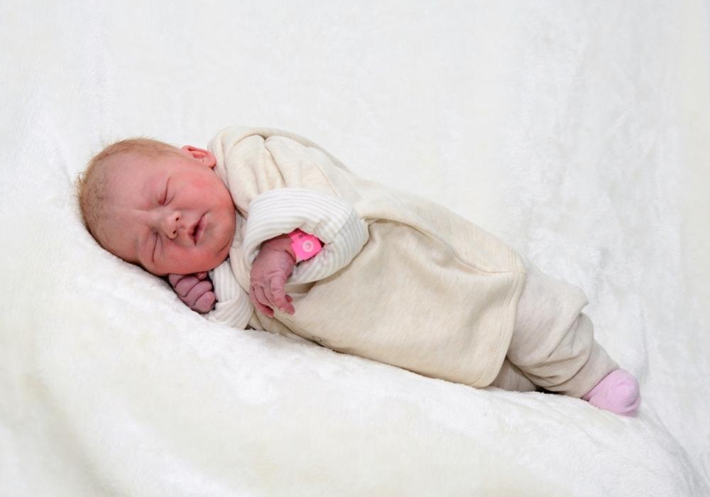 Willkommen, Fiona Nowicki. Foto: Babysmile24.de.