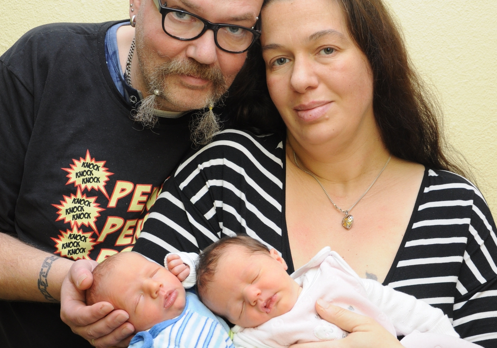 Im Marienstift kamen im Jahr 2016 927 Kinder zur Welt. An Weihnachten ein Zwillingspaar. Foto: Marienstift