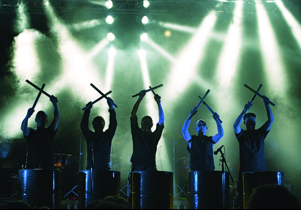 """""""Power!Percussion"""" kommt ins Stadttheater Peine. Foto: Billy Gropper/Kulturring Peine e.V."""