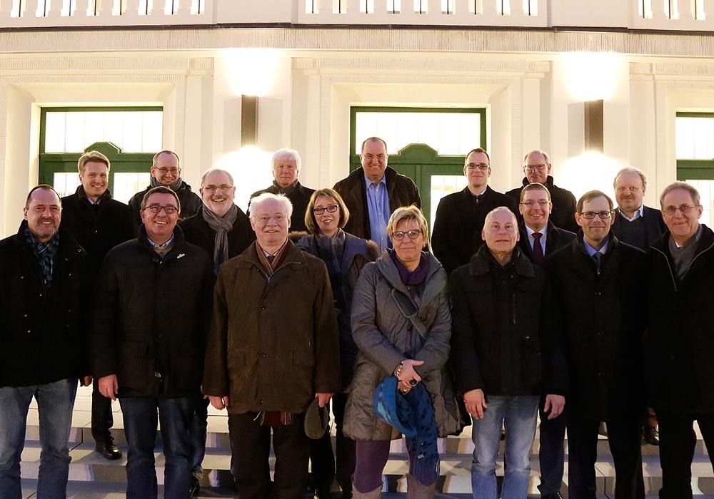 Für die Kämmerer stand im Rahmen ihrer Tagung in Wolfenbüttel auch eine Besichtigung des Lessingtheaters auf dem Programm. Foto: Stadt Wolfenbüttel