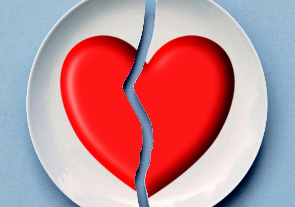 Ist die Liebe vorbei, fängt der Ärger oft erst richtig an. Symbolfoto: pixabay