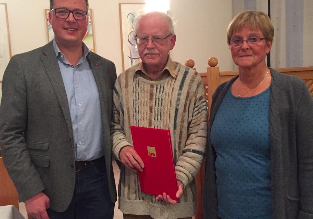 Jochen Pöhlandt wurde für 50 Jahre SPD-Mitgliedschaft geehrt. Foto: Privat