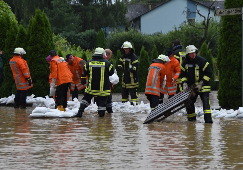 In vielen Gebieten des Landkreises Goslar richtete die Hochwasserkatastrophe im Juli dieses Jahres enorme Schäden an. Das Land unterstützt die Betroffenen mit Hilfeleistungen. Inzwischen wurde das dritte Hilfspaket auf den Weg gebracht. Foto: Landkreis Goslar