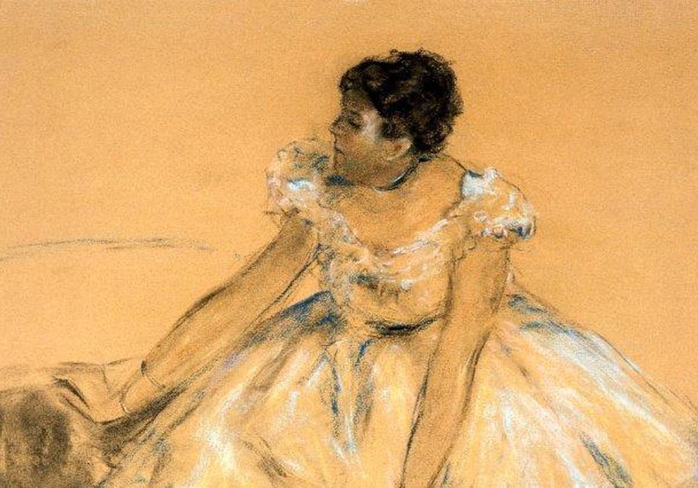 """Am 1. März geht es in der  Reihe Mittagspause im Museum um das Pastell """"Die Balletttänzerin"""". Foto: Städtisches Museum Braunschweig/Monika Heidemann"""