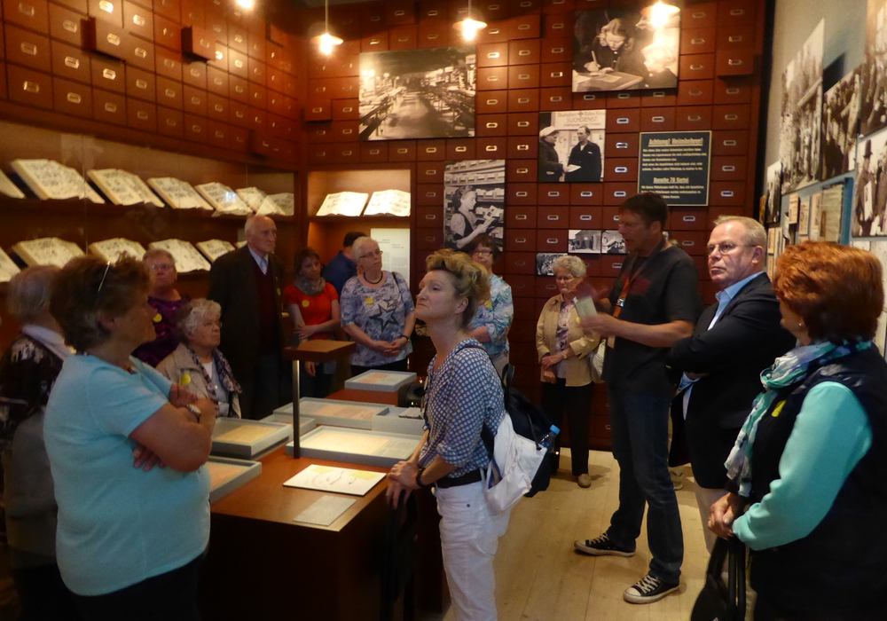 Die Ausflugsteilnehmer des AWO-OV-WF im Friedlandmuseum. Foto: Privat