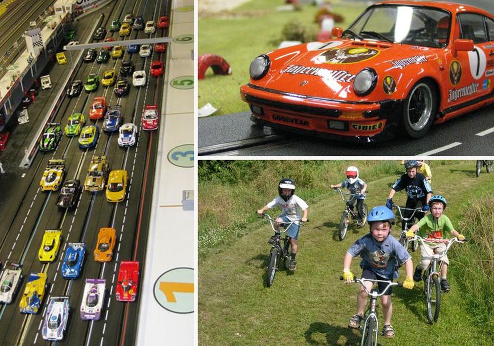 Für kleine Rennsportfans das Highlight der Sommerferien: Die Angebote des MSC. Fotos: Motorsportclub Braunschweig e.V.