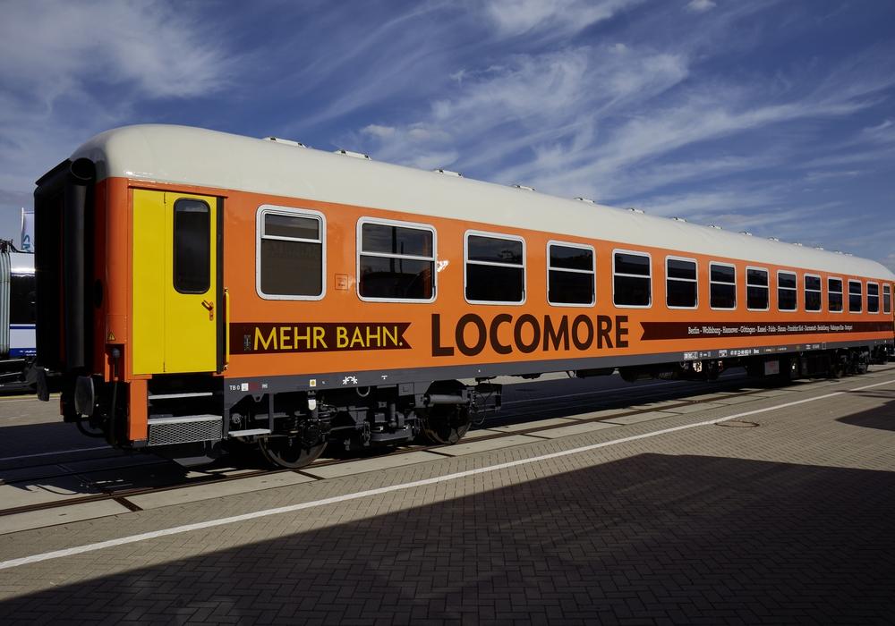 """""""Locomore"""" fährt jetzt von Stuttgart nach Berlin und hält dabei auch in Wolfsburg. Foto: Locomore"""
