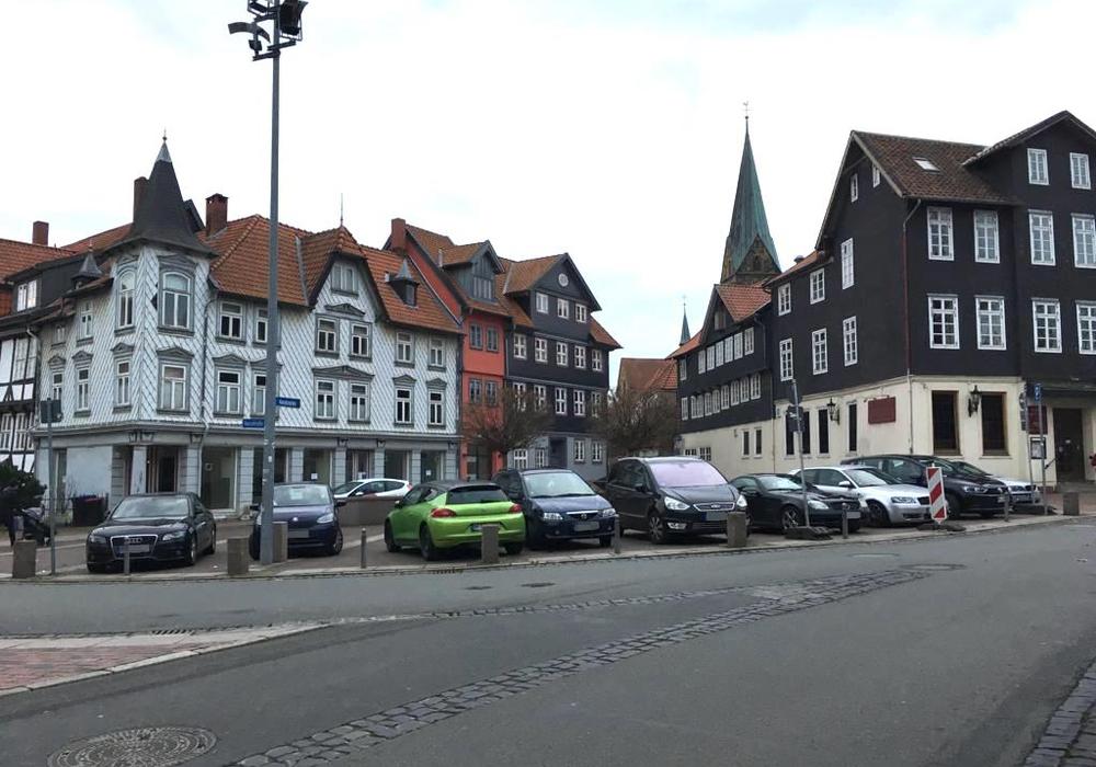 """Soll aus dem Harztorplatz der """"Leopold-Zunz-Platz"""" werden? Foto: Nick Wenkel"""