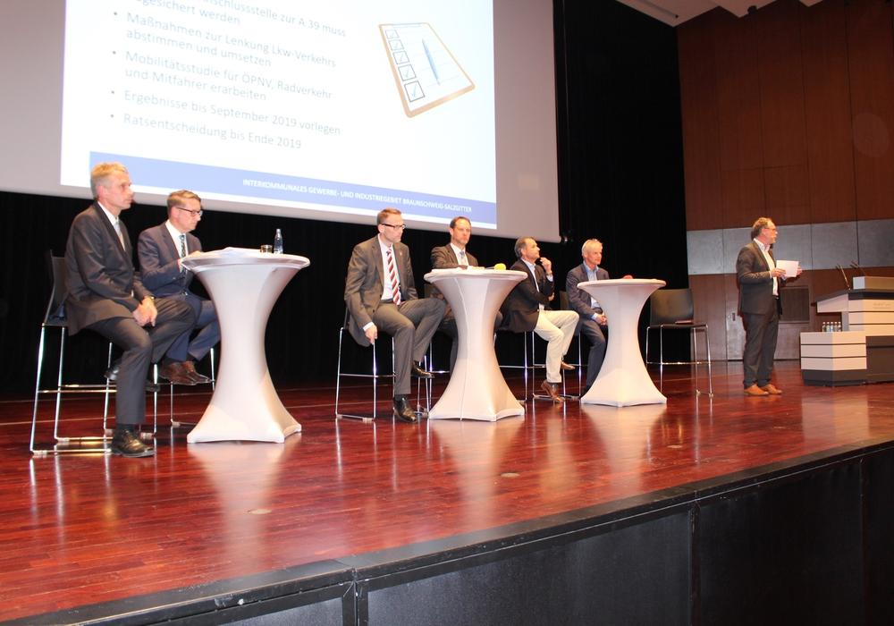 Bei einer Bürgerveranstaltung im Mai 2018 war man noch optimistisch, das Projekt zwischen Salzgitter und Braunschweig realisieren zu können. Archivfoto: Alexander Dontscheff