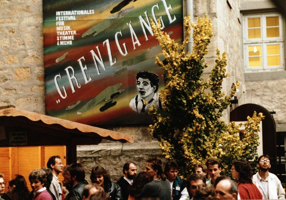 Ein Festivalplakat von 1990. Foto: Stadt Wolfsburg