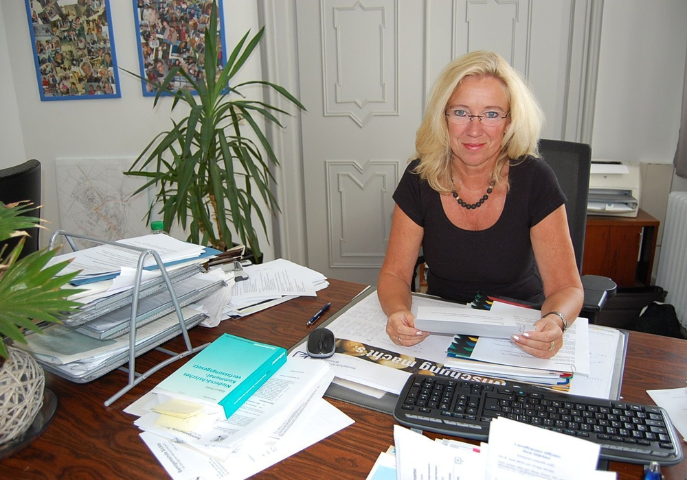 Die Sickter Gemeindedirektorin Petra Eickmann-Riedel. Foto: Privat