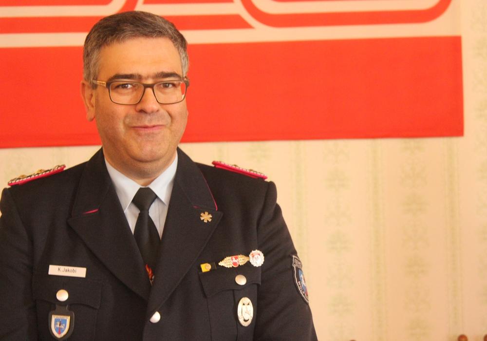 Der Ortsbrandmeister der Ortsfeuerwehr Wolfenbüttel, Kurt Jakobi, ist stolz auf seine Kameraden. Foto: Anke Donner