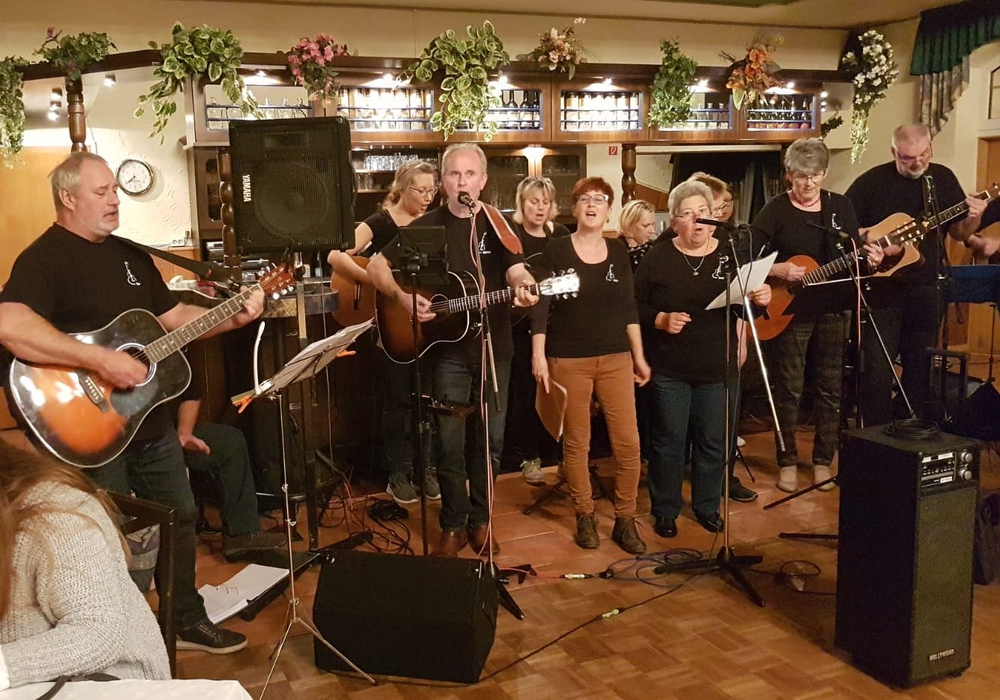 Den kulturellen Rahmen gestaltete die Gitarrengruppe Fiss-Moll. Foto: privat