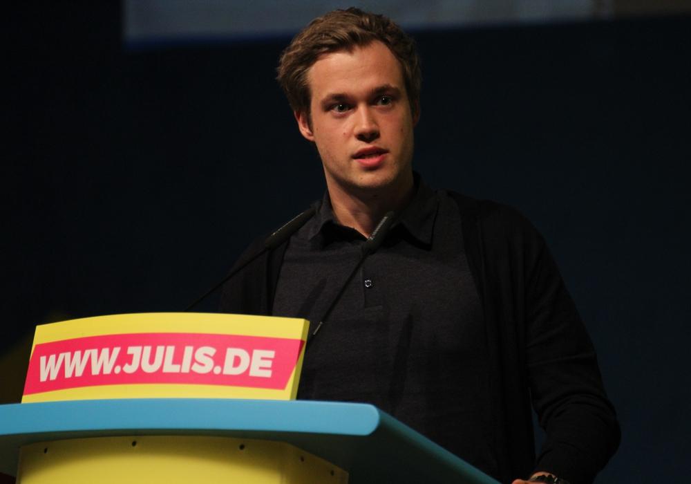 Lars Alt, Landesvorsitzender der Jungen Liberalen Niedersachsen.