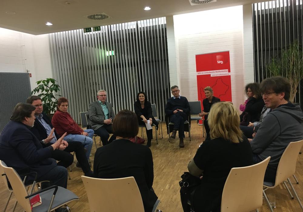 SPD blickt in den Arbeitsalltag sozialer Berufe. Foto: Privat