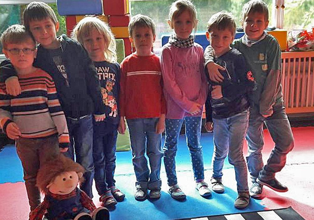 Die Maxis des Kindergartens Rieseberg bewiesen im Schonraum, dass sie Regeln anwenden können. Foto: Achim Klaffehn
