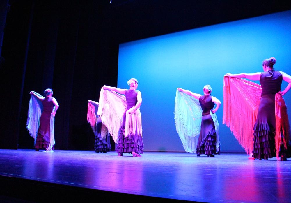 Flamencotänzerinnen im Lessingtheater zur Kulturnacht 2015. Foto: Max Förster