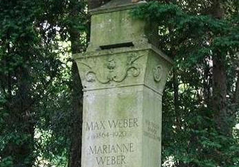 Auf dem Heidelberger Bergfriedhof befindet sich die Grabstätte von Max und Marianne Weber. Foto: Prof. Dr. Folker Reichert