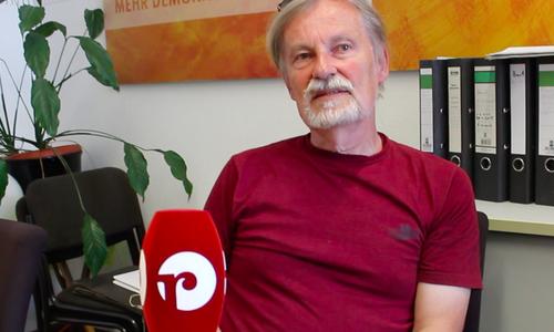 Peter Rosenbaum, Ratsherr der BiBS in Braunschweig.