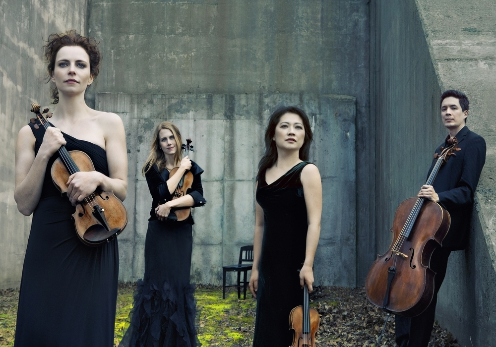 Das Daedalus Quartett spielt in Peiner Forum spielt im Peiner Forum. Foto: Lisa-Marie Mazzucco.